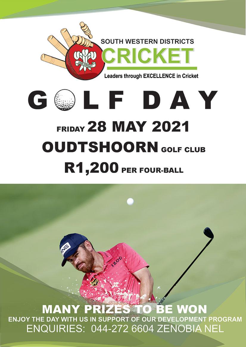 SWD Cricket Golf Day
