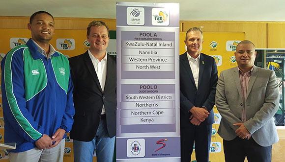 SWD Cricket - Draw for the 2016 Africa Twenty20 Cup