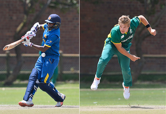 SWD Cricket - Under 19 One Day International at the Rec, Oudtshoorn