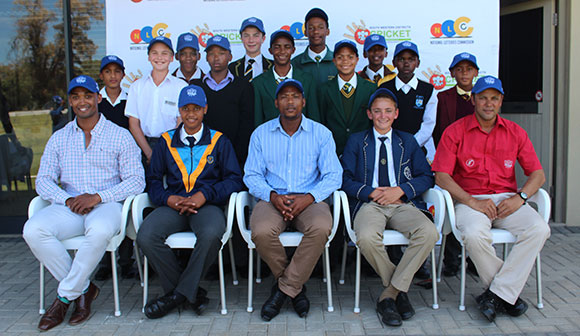 SWD Cricket - The SWD U/13 team that will participate in the Momentum U/13 National Cricket Week