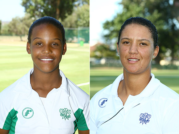 SWD Cricket - Micaela Andrews and Mochelle May