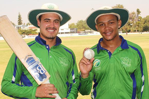SWD Cricket - Hanno Kotze and Marcello Piedt
