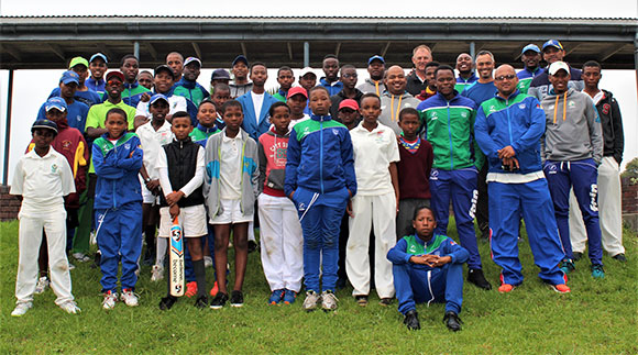 SWD Cricket - Attendees of the specialist camp