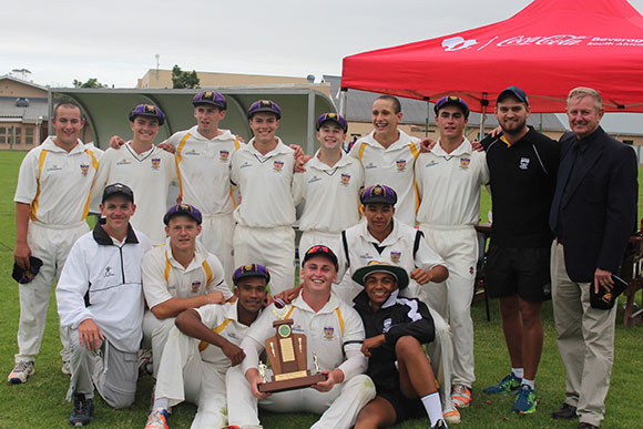 SWD Cricket - The team of Outeniqua High who won the Coca Cola SWD Schools T20 competition