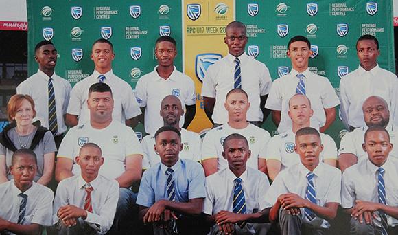 SWD Cricket - Regional Performance Centre Team