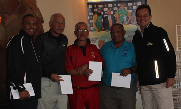 SWD Cricket - The winners of the SWD Golf Day