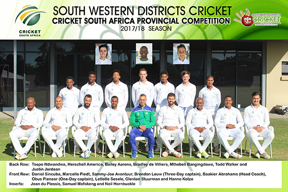 SWD Cricket - Official team photo