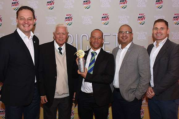 SWD Cricket - Elridge Booysen, who won the Pitchvision RPC and Hub Coach award