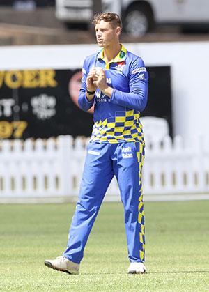 SWD Cricket - George Linde