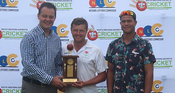 SWD Cricket - Hannes van Niekerk, captain of George B