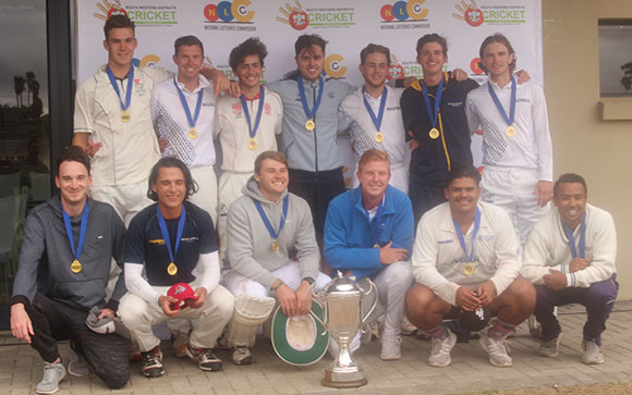 SWD Cricket - Nelson Mandela University, the winners of the South Western Districts premier league