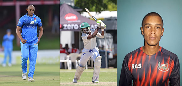 SWD Cricket - Renaldo Meyer (right) will be replacing Marcello Piedt (left) and Mesuli Vuba (centre) is also a new addition to the provincial team