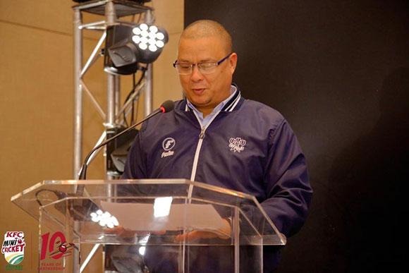 Mr Rudy Claassen, President of SWD Cricket