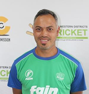 SWD Cricket - SWD coach, Baakier Abrahams