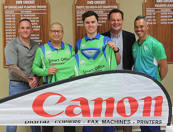 SWD Cricket - Handing-over of the sponsorship for the Provincial T20 competition