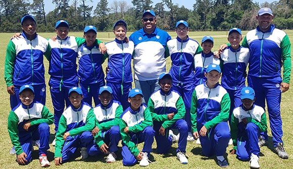 The SWD U/13 team that won both their matches against Northern Cape