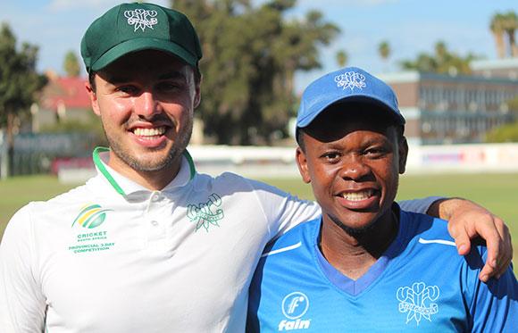 SWD Cricket - Jean du Plessis and Tsepo Ndwandwa