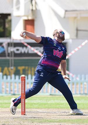 SWD Cricket - Shaun von Berg