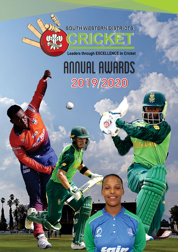 SWD Cricket - 2019/20 Awards Gala evening to be streamed