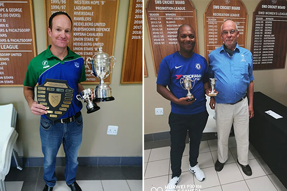 SWD Cricket - Andre Olivier and Nathan Rhodes