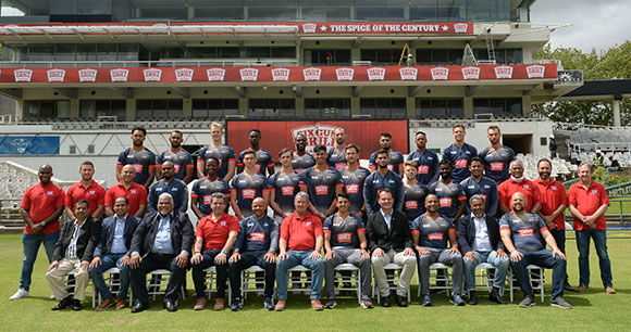 The contracted squad for Six Gun Grill Cape Cobras