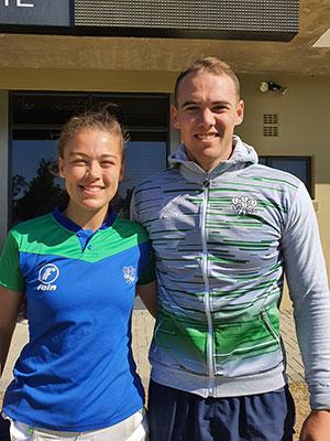 SWD Cricket - Bradley and Cheyenne de Villiers