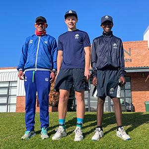 SWD Cricket – Merlin Masimela, Zander Nel and Inathi Kitshini